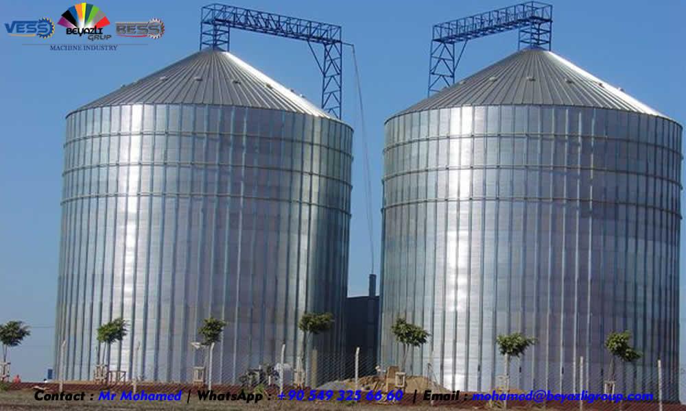 silo tour - Silos couloir - silo conique - silo fond plat - Silo modulaire